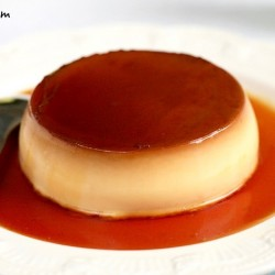 banner how to make Flan custard pudding recipe