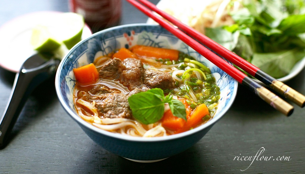 Vietnamese Beef Stew recipe with Noodles or Bread (Bò kho) - Rice 'n Flour