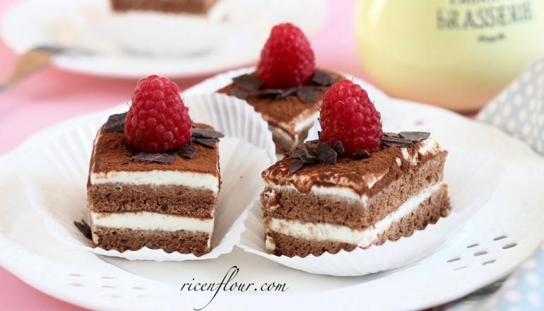 Baby Tiramisu cake recipe Rice n Flour