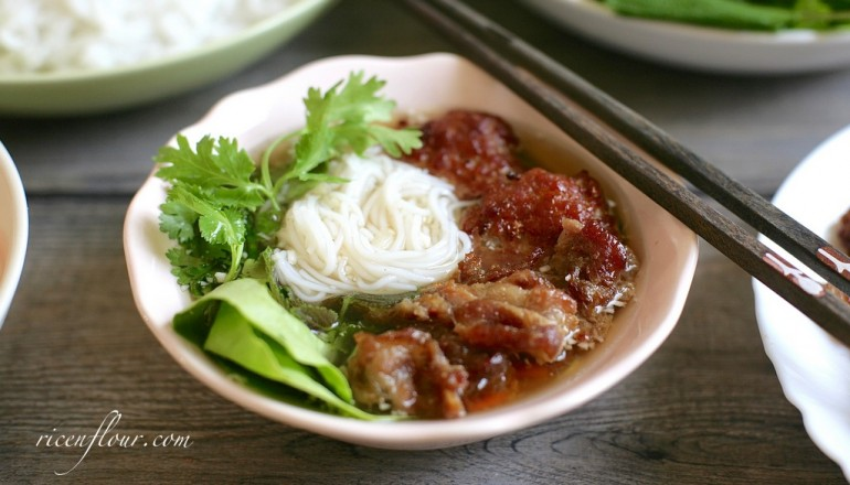 How to make bn ch recipe of vietnamese grilled pork with rice prep time forumfinder Choice Image
