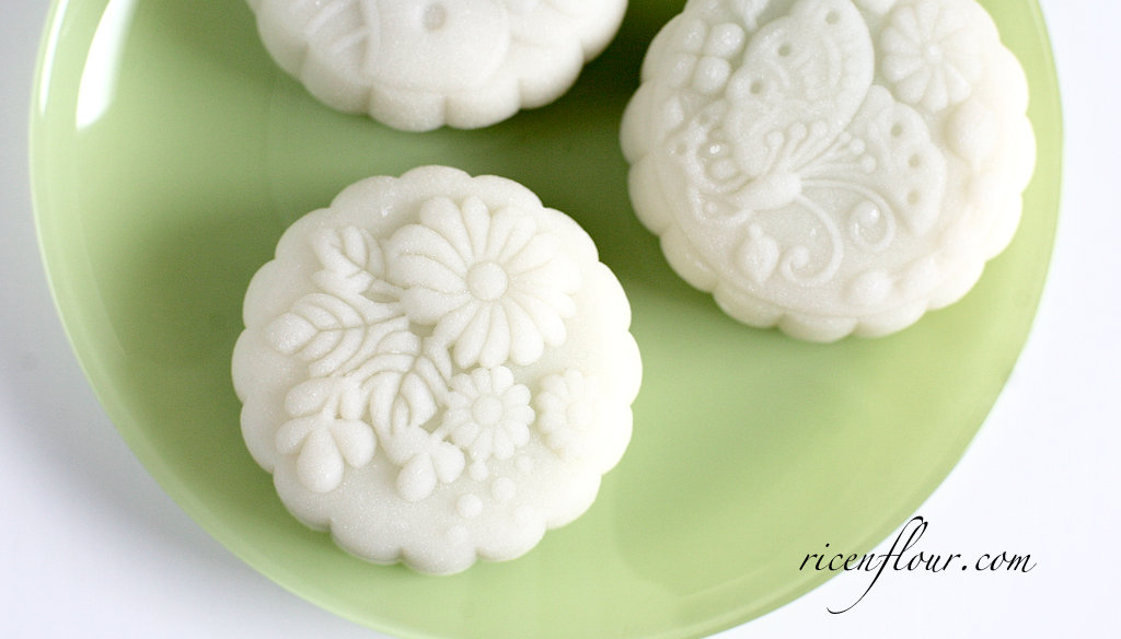 How To Make Snowskin Mooncakes Traditional Snowskin