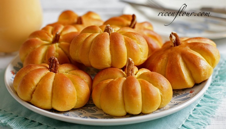 How To Make Pumpkin Dinner Rolls Recipe With Video Pumpkin